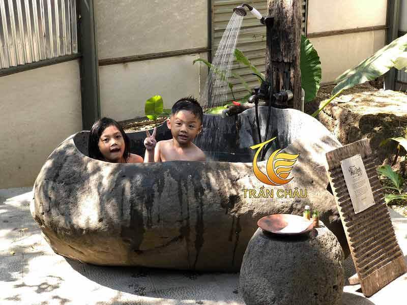 Bồn Tắm Đá Tự Nhiên Là Gì-Mẫu Bồn Tắm Khách Sạn 2021