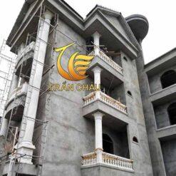 Chân Cột Đá Vuông Cho Biệt Thự