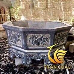 Chậu Cảnh Lục Giác Đá Ninh Bình
