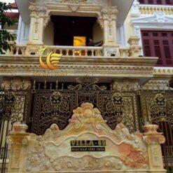 Cột Đá Cẩm Thạch Cho Biệt Thự