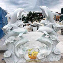 Đôi Cá Heo Để Cổng Sân Vườn Đẹp