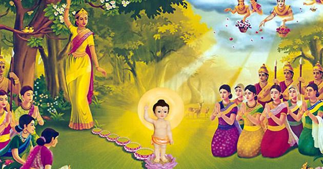 Hình Phật Đản Sanh Đẹp