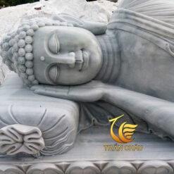 Mẫu Phật Nhập Niết Bàn Đá Cẩm Thạch Xám