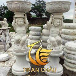 Mẫu Tượng Thiên Thần Sân Vườn Đẹp