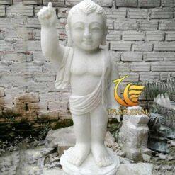 Phật Đản Sanh Bằng Đá Mỹ Nghệ