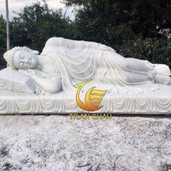 Phật Nhập Niết Bàn Đá Cẩm Thạch