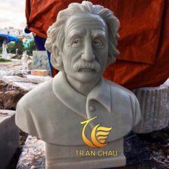 Tượng Bán Thân Albert Einstein Đá Cẩm Thạch