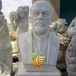Tượng Bán Thân Lenin Đá Tự Nhiên Đẹp