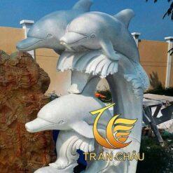 Tượng Cá Heo Đá Ngũ Hành Sơn