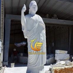 Tượng Chân Dung Nữ Thần Athena Đá Đẹp