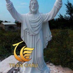 Tượng Chúa Cao 2m Đá Tự Nhiên