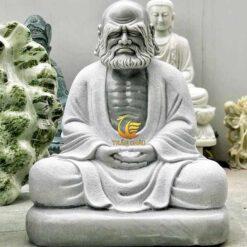 Tượng Đạt Ma Sư Tổ Ngồi Thiền Đá Tự Nhiên