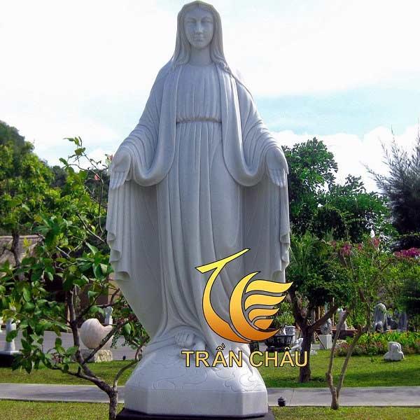 Tượng Đức Mẹ Ban Ơn Bằng Đá