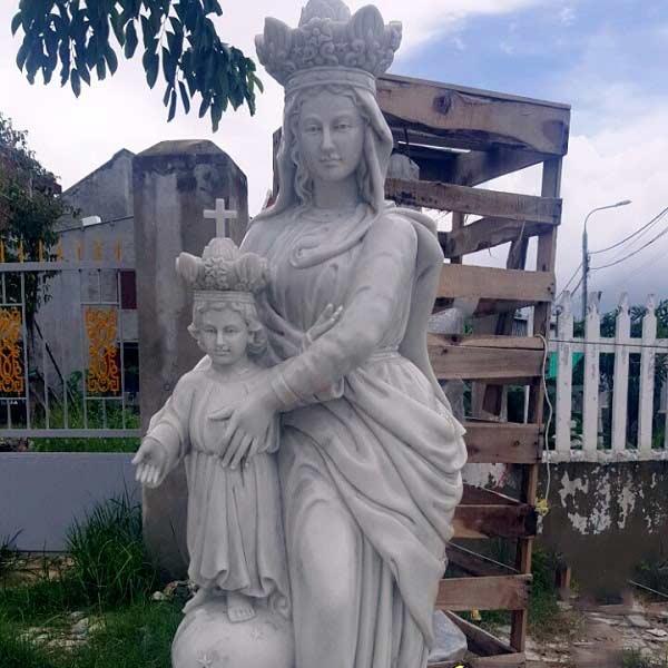 Tượng Đức Mẹ Đồng Trinh Đá Mỹ Nghệ