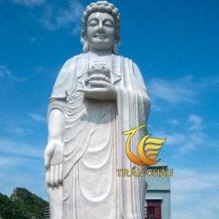 Tượng Đức Phật A Di Đà Bằng Đá Cẩm Thạch