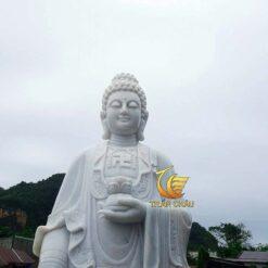 Tượng Phật A Di Đà Đá Mỹ Nghệ