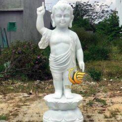 Tượng Phật Đản Sanh Mini Đá Đẹp