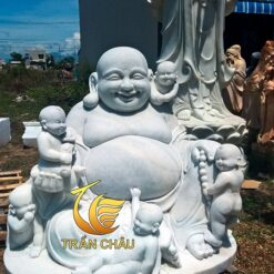 Tượng Phật Di Lặc Đá Tự Nhiên Nguyên Khối