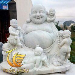 Tượng Phật Di Lặc Ngũ Phúc Đá Tự Nhiên