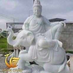 Tượng Phật Phổ Hiền Bồ Tát Cưỡi Voi Trắng