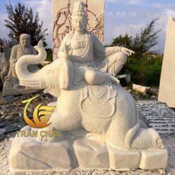 Tượng Phật Phổ Hiền Bồ Tát Đá Đẹp