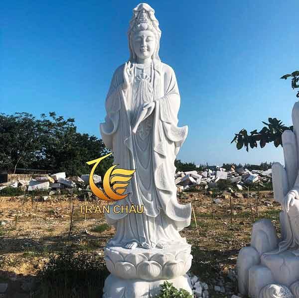 Tượng Phật Quan Âm Đá Mỹ Nghệ Đà Nẵng