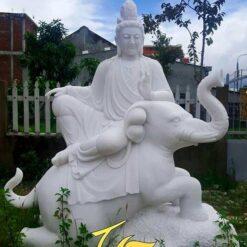 Tượng Phổ Hiền Bồ Tát Đá Phong Thủy