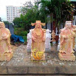Tượng Phúc Lộc Thọ Trang Trí Sân Vườn