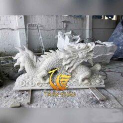Tượng Rồng Đá Đẹp Tại Hà Nội