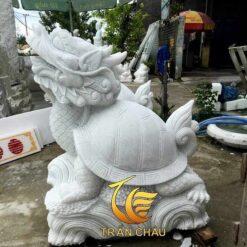 Tượng Rùa Đầu Rồng Đá Phong Thủy Tại Hcm