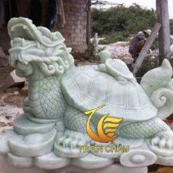 Tượng Rùa Đầu Rồng Đá Tự Nhiên Đẹp