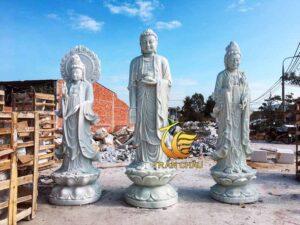 Tượng Tam Thế Phật Gồm Những Vị Nào