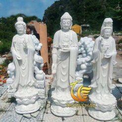 Tượng Tam Thế Phật Lớn Tại Hà Nội