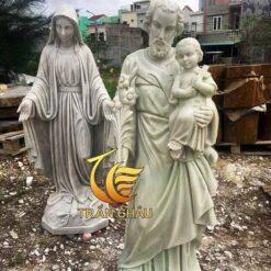 Tượng Thánh Giuse Đá Đẹp Nguyên Khố