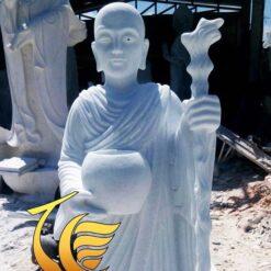 Tượng Thập Đại Đệ Tử Của Đức Phật Bằng Đá