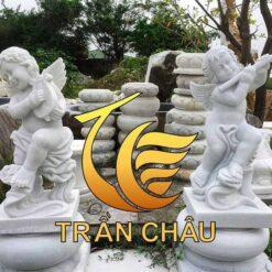 Tượng Thiên Thần Trang Trí Phòng Khách Đẹp