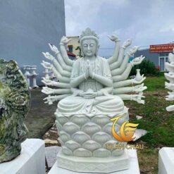 Tượng Thiên Thủ Thiên Nhãn Ngồi Đài Sen