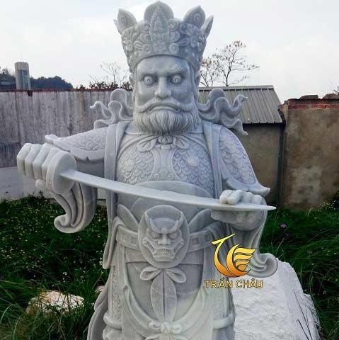 Tượng Tứ Đại Thiên Vương Đá Đẹp Tại Đà Nẵng