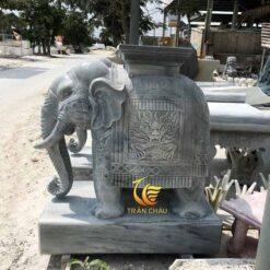 Tượng Voi Đá Phong Thủy Tại Hà Nội