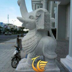 Tượng Voi Đá Trang Trí Sân Vườn
