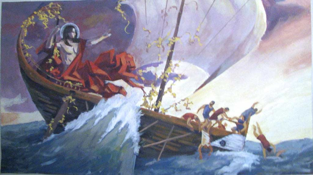 Cá Heo Trong Truyền Thuyết Của Dionysus Và Những Tên Cướp Biển