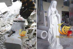 Làm Tượng Đức Mẹ Maria Cao 2m Tại Hồ Chí Minh