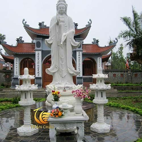 Mẫu Bàn Thờ Phật Tại Đình Làng